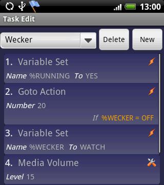Alarmclock - Tasker Wiki